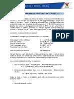 EJEMPLO DE MODELO DE PRODUCCIÓN CON DÉFICIT