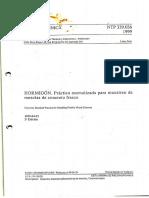 (NTP 339.036.1999) CONCRETO. Practica Normalizada Para Muestreo de Mezclas de Concreto Fresco