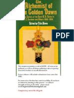 The Alchemist of the Golden Dawn