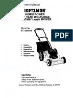 Craftsman Mower Manual