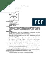 Hoja de Seguridad Sulfato de Sodio Anhidro