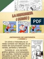 LA HISTORIETA (COMIC ).pptx