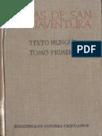 Obras de San Buenaventura Tomo I Bn