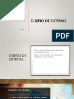 Diseño de Sistema