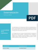 Sistematización (1)