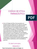 Codigo de Etica Farmaceutica Javt