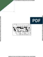 planta arquitectonicas de un hotel