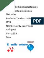 Carpeta de Ciencias Naturales