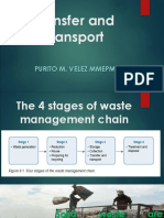 Transfer and Transport of Solid Waste