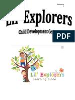 lil explorers policy handbook1