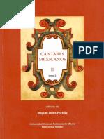 Leon Portilla Miguel - Cantares Mexicanos II Tomo 2.pdf