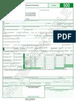 Cartilla de Instrucciones Declaracion de Importacion