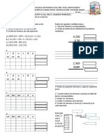 Evaluacion Parcial Operaciones Matematicas 2017