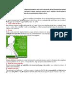 Consejos o Tip Para Una Presentacion Efectiva