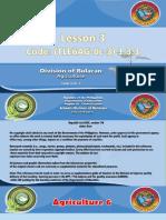 Lesson 3 (TLE6AG-0c-3) 1.3.3