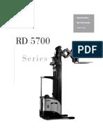 Manual RD5700