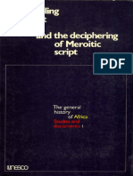 the peopling of ancient egypt meroitic script.pdf