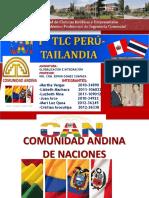Can y Tlc Peru -Tailandia.