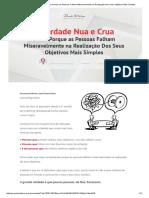 A Verdade Nua e Crua Sobre Porque as Pessoas Falham Miseravelmente na Realização Dos Seus Objetivos Mais Simples.pdf