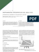 instrumento de topografia