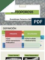 Osteoporosis 1 y 2
