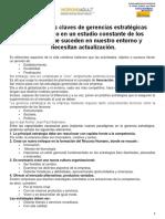 CUATRO ELEMENTOS BÁSICOS DE LA GESTIÓN ESTRATÉGICA