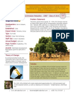 African Biofuel and Emission Reduction - GSBI 2010 - Factsheet