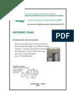 Evaluación Proyecto Salud