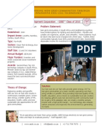 Alternative Energy Development Corporation - GSBI 2010 - Factsheet