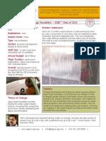 Jaipur Rugs Foundation - GSBI 2010 - Factsheet