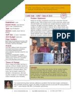 We Care Solar - GSBI 2010 - Factsheet