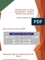 Fundamentos y etapas de la planificación y programacion de obras de construccion