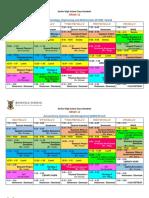 Senior High School Class Schedule (Final)