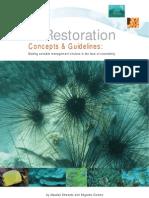 Reef Restoration Guidelines