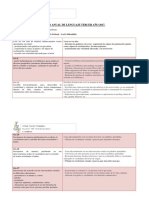 Plan Anual Tercer Año 2015 Lenguaje