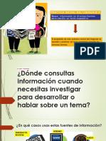 Español Bloque II Proyecto 1