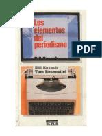 Los Elementos Del Periodismo - Bill Kovach & Tom Rosenstiel