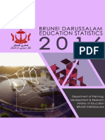 Brunei Darussalam Education Statistics 2016