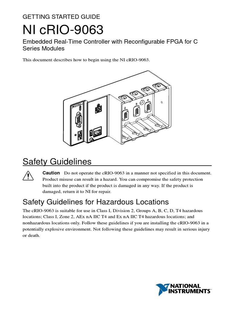 Ni Crio 9063 Datasheet Ip Address Electrical Connector Usb 6008 Wiring Diagram