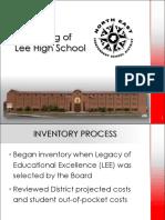 Lee Renaming Costs