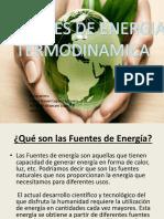 Fuentes de Energia -Termodinamica