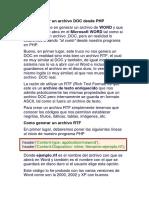 Como Generar Un Archivo DOC Desde PHP