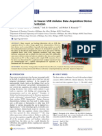 Data Acquisition Arduino