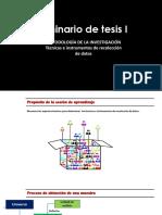 Tecnicas Instrumentos Recoleccion Datos