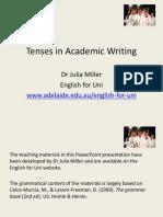Tenses English for Uni