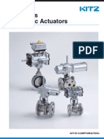 BF Series Pneumatic Actuator (E-350-08)