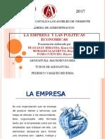Exposicion de Macro LA EMPRESA