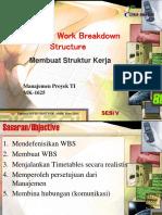 S5 Creating WBS
