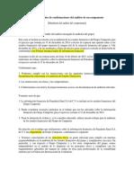 Ejemplos de Confirmaciones Del Auditor de Un Componente