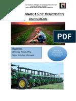 Tipos y Marcas de Tractores